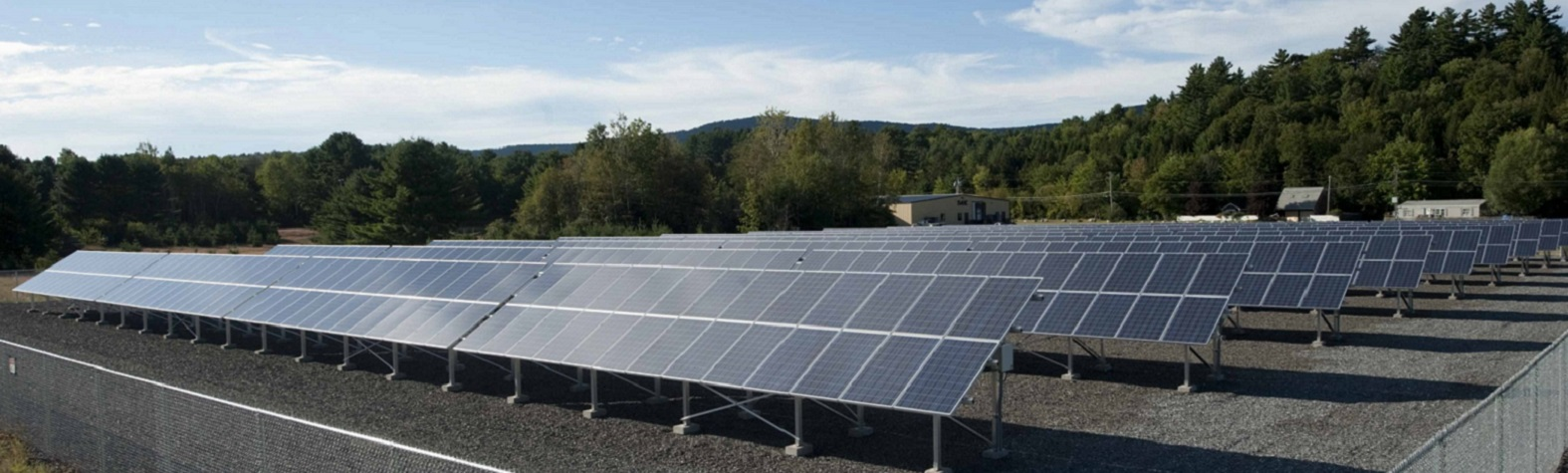 Solar Panels used to Power IVEK's facility